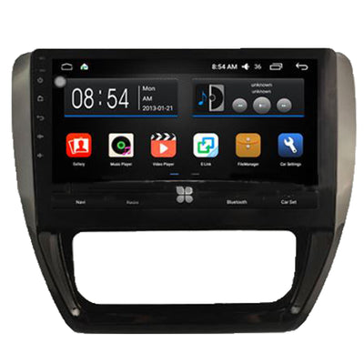Toyota Jetta Android Aftermarket GPS Navigation Car Stereo with DVD