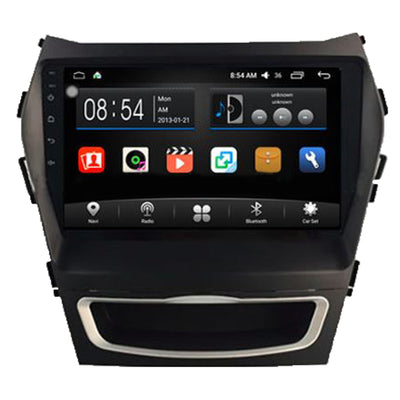 Hyundai IX45 Android Aftermarket GPS Navigation Car Stereo with DVD