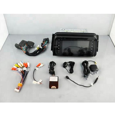 Nissan Kicks Android Aftermarket GPS Navigation Car Stereo with Car DVD