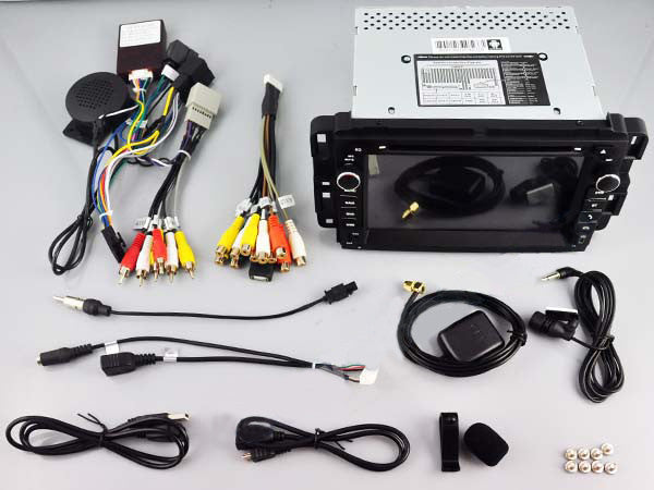 Jeep Android Aftermarket GPS Navigation Car Stereo with DVD