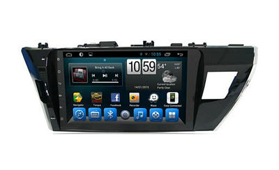 Toyota Corolla (Asia) Android Aftermarket GPS Navigation Car Stereo without DVD