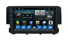 Honda Civic Android Aftermarket GPS Navigation Car Stereo without DVD