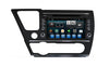 Honda Civic Android Aftermarket GPS Navigation Car Stereo with DVD