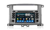 Toyota Land Cruiser 100 Android Aftermarket GPS Navigation Car Stereo with DVD
