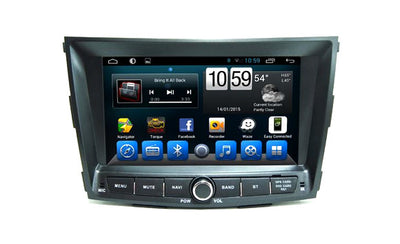 Ssangyong Tivoli Android Aftermarket GPS Navigation Car Stereo without DVD