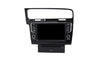 VW Golf 7 (Black) Android Aftermarket GPS Navigation Car Stereo without DVD