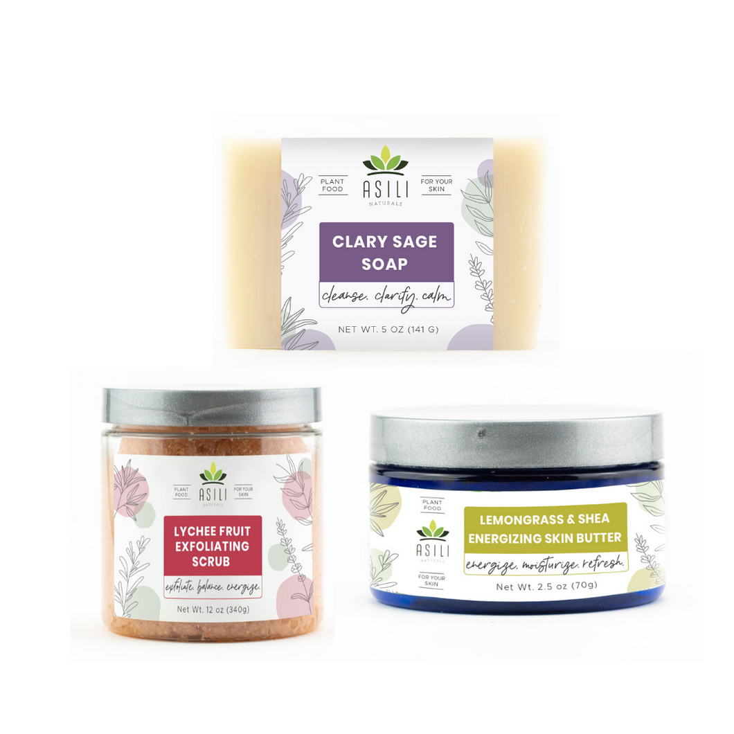 Body Care Bundle - Asili Naturals, LLC.