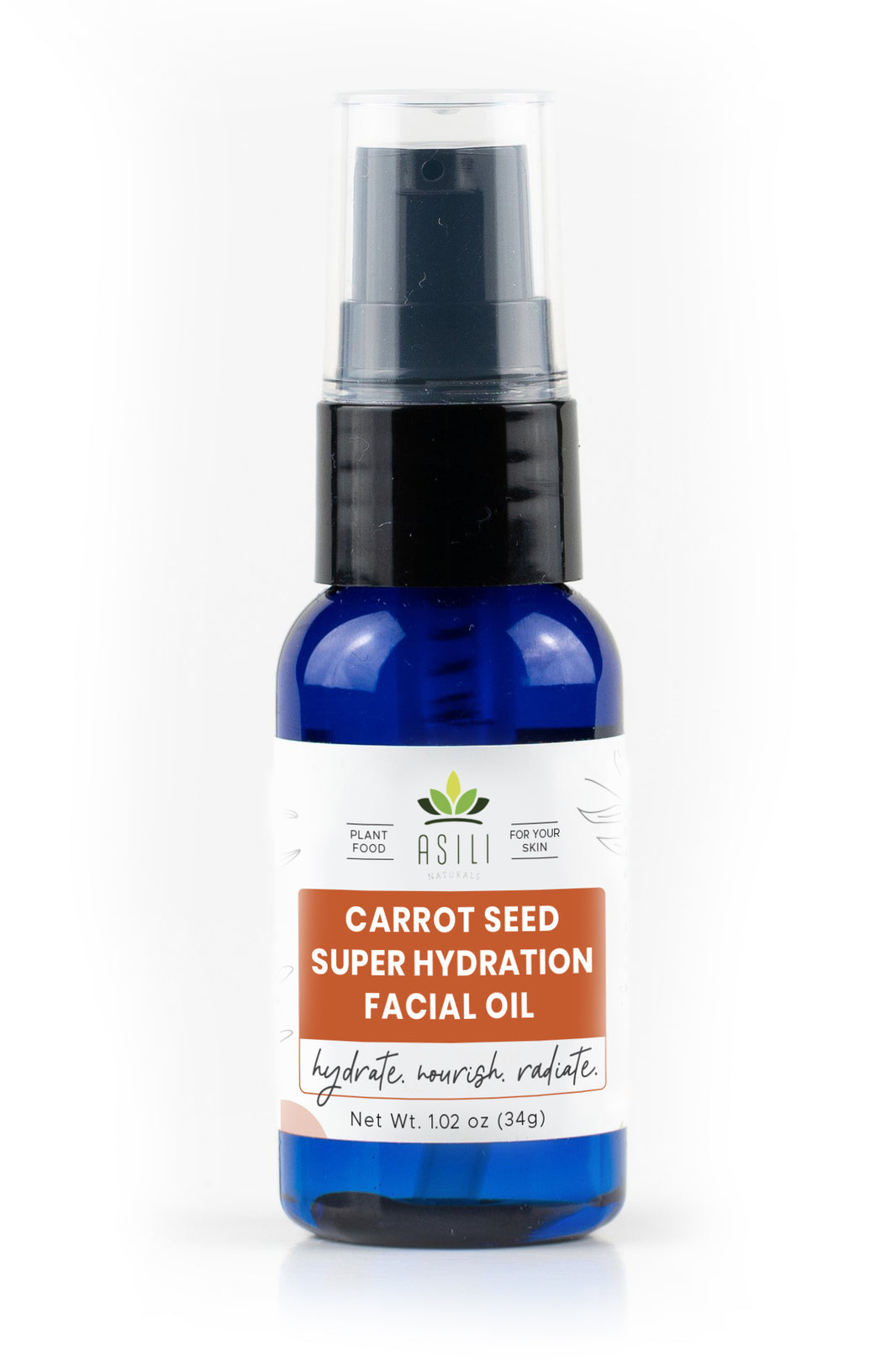 Carrot Seed Super Hydration Facial Oil - Asili Naturals®