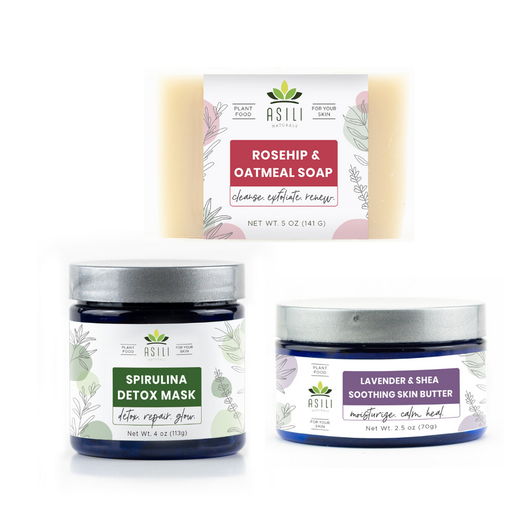 Glowing Skin Bundle - Asili Naturals, LLC.