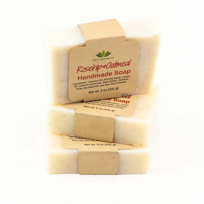 Rosehip & Oatmeal Soap (3 pack)