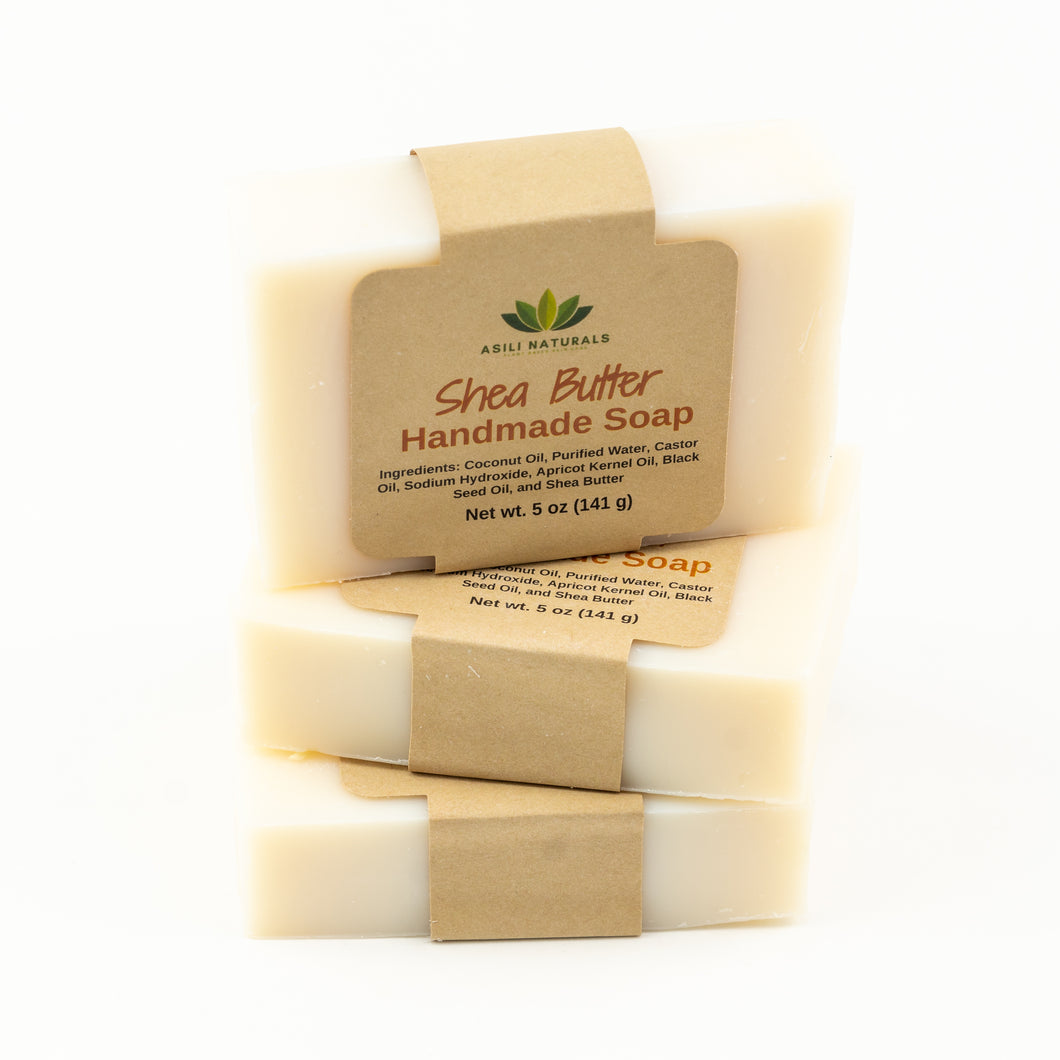 Shea Butter Soap (3 pack) - Asili Naturals, LLC.