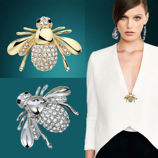 Bee Brooch - winnedy.com