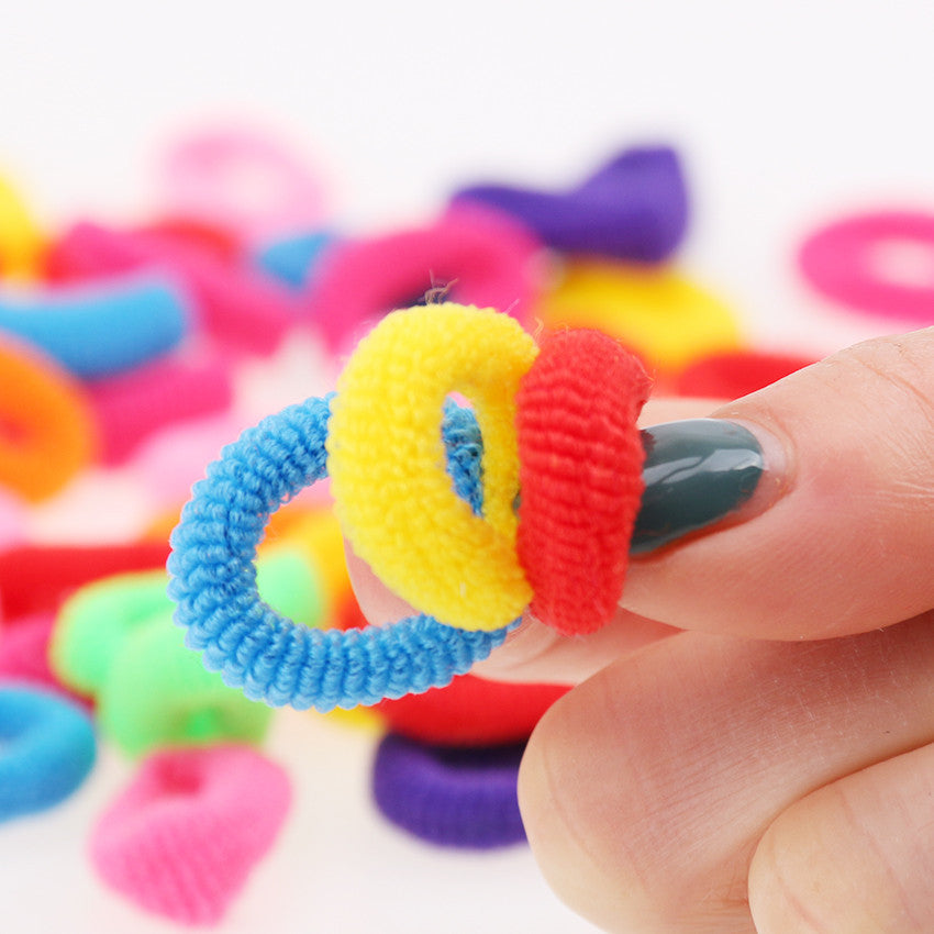 200 Pcs Colorful Hair Holders - winnedy.com
