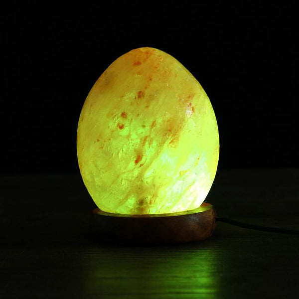 Smuxi DC5V Colorul Changable USB Night Light Lamp Himalayan Rock Salt Glowing Attractive Night Lamps For Bedroom Decor