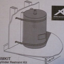 <200 Litre Cylinder Restraint Kit - Stainless
