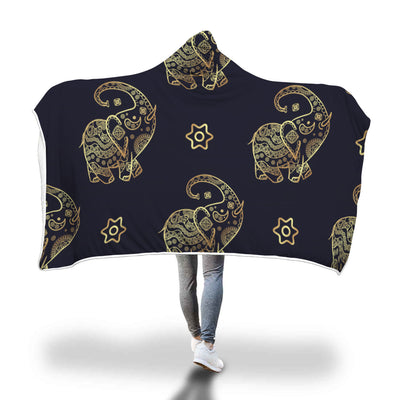 Elephant Hooded Blanket