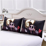 Nightmare Before Christmas 3D Bedding Set Skull Duvet Cover Sets-FREE SHIPPING WORLDWIDE