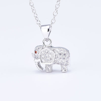 Cute Elephant Necklace-FREE SHIPPING ONLY TODAY
