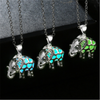 Grow in the Dark Elephant Enchanting Stone Necklace - Laizis