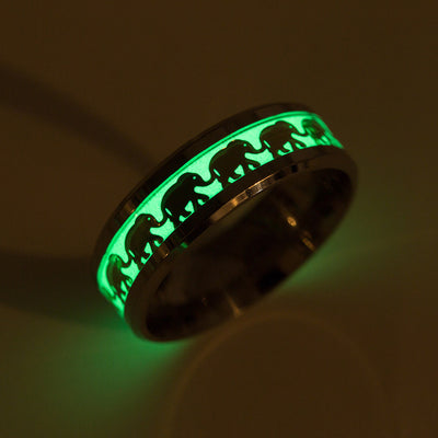 Glow in The Dark Elephant Ring