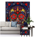 SKULL BLANKET AND TAPESTRIES - Laizis