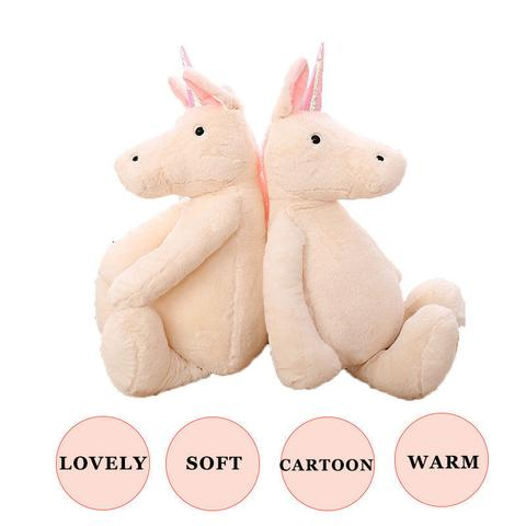 Big Fluff Unicorn Soft Plush Toy-Best gift for Unicorn Lovers - Laizis