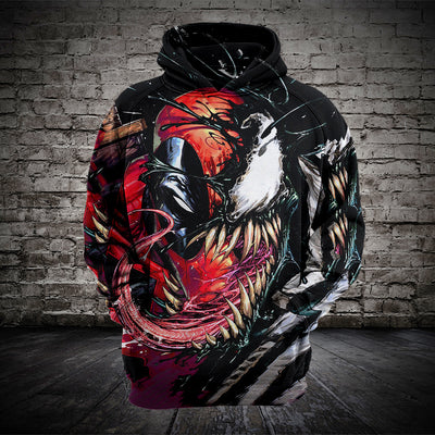 Venom Hooded Sweatshirt-FREE SHIPPING ONLY TODAY
