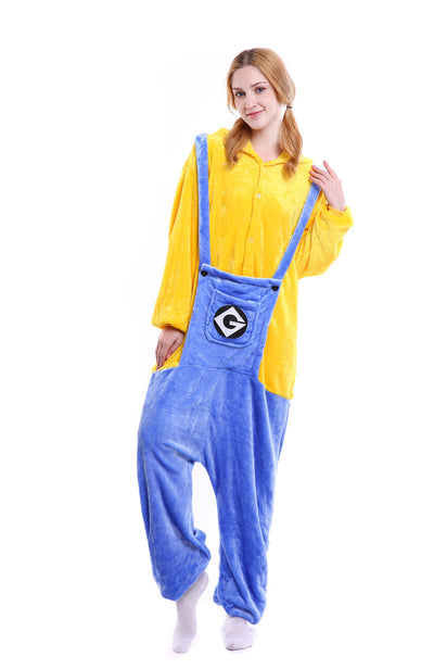 Minions Adult and Children Pajamas Kigurumi Cosplay Costume Animal Winter Onesie - Laizis