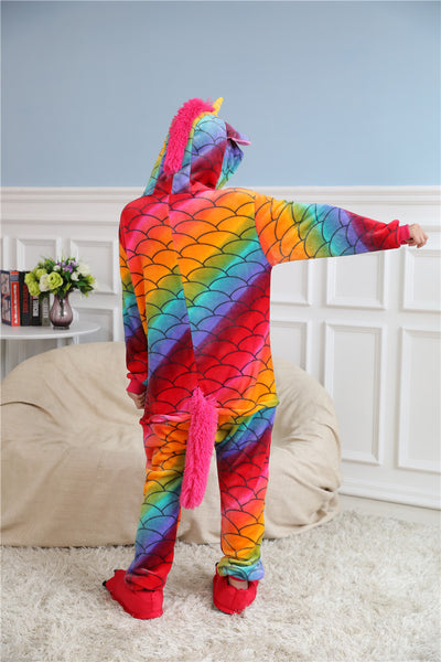 Magical Unicorn Onesie Pajamas for Party Costume and Sleepwear