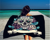 SUGAR SKULL BEACH TOWEL-BUY TWO GET ONE FREE