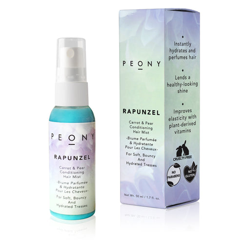 Carrot & Pear Conditioning Hair Mist - For Soft, Bouncy & Hydrated Tresses