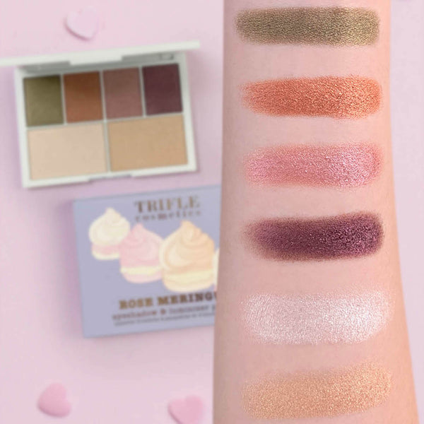 Rose Meringue Palette - Eyeshadow & Luminizer palette