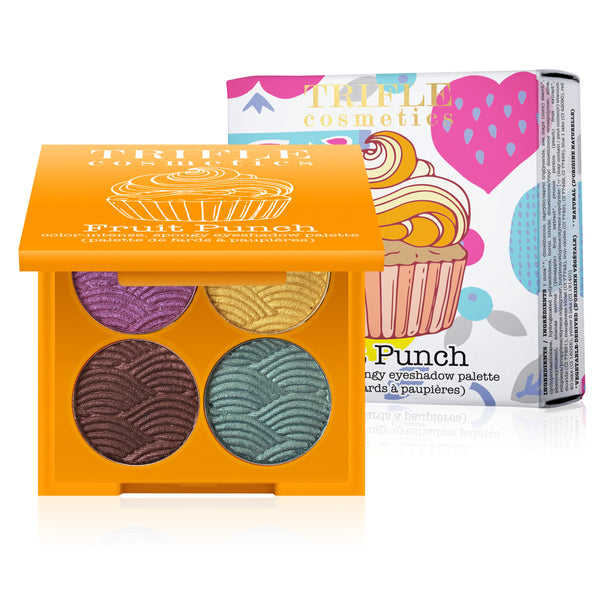 Fruit Punch - Color-Intense, Spongy Eyeshadow Palette