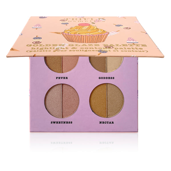 Golden Glaze Palette - Highlight & Contour Palette