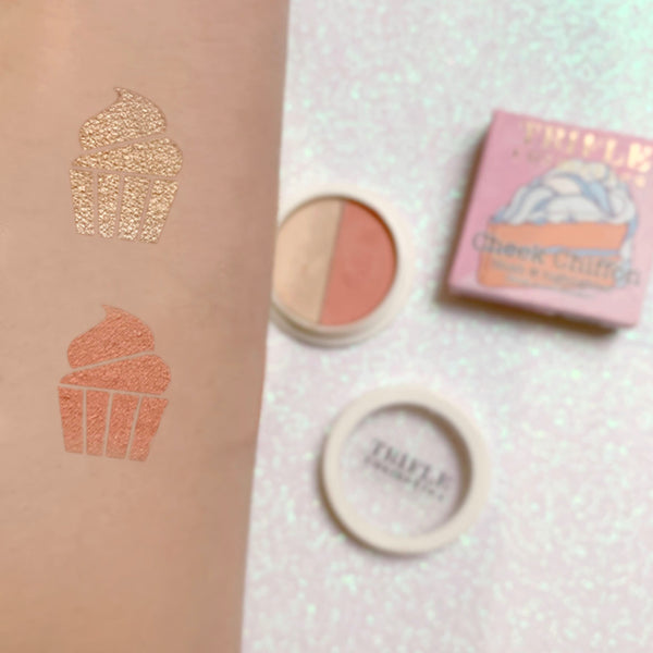 Cheek Chiffon - Blush & Highlighter