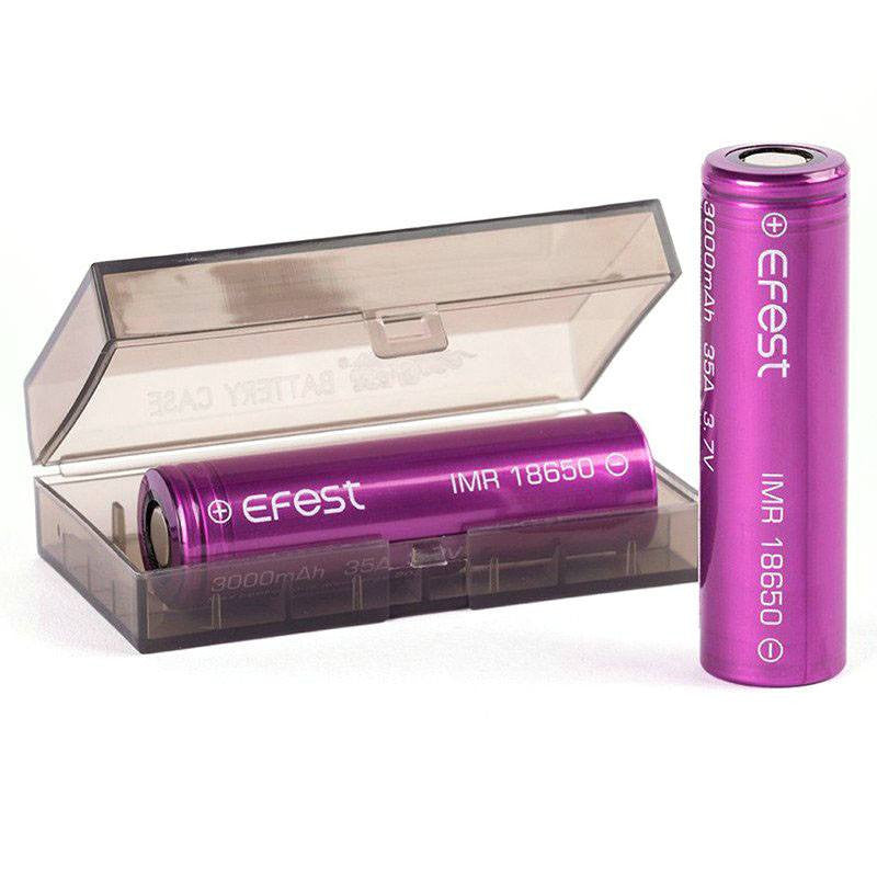 eFest 3000mah 18650 Battery 2 Pack
