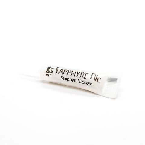 Sapphyre Nicotine Shot Small .9ml