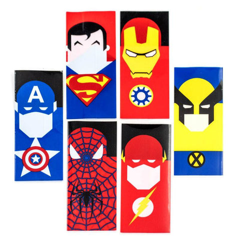 Super Hero Battery Wrap Pair