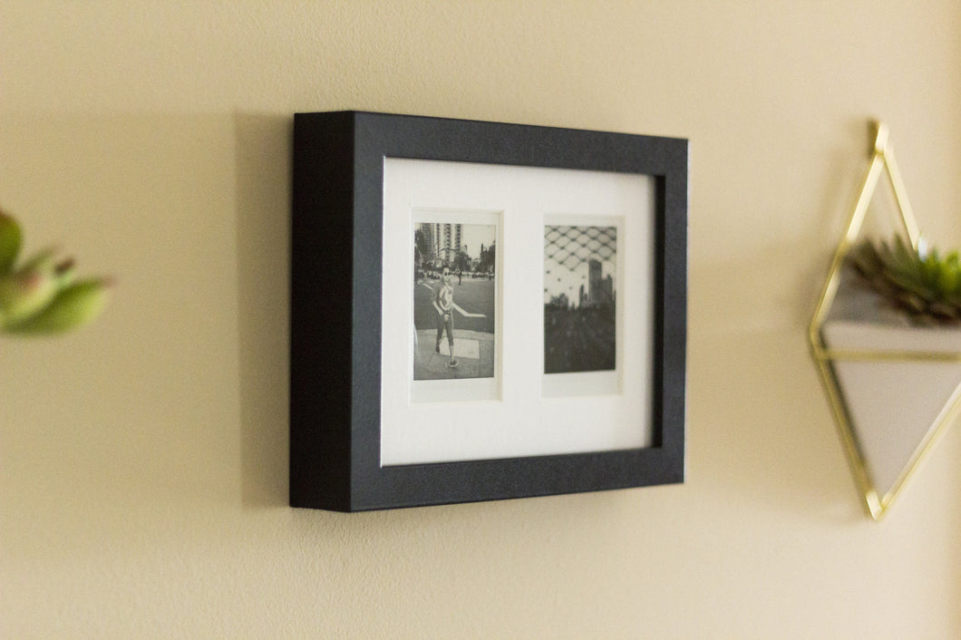 Black Instax Mini Picture Frame