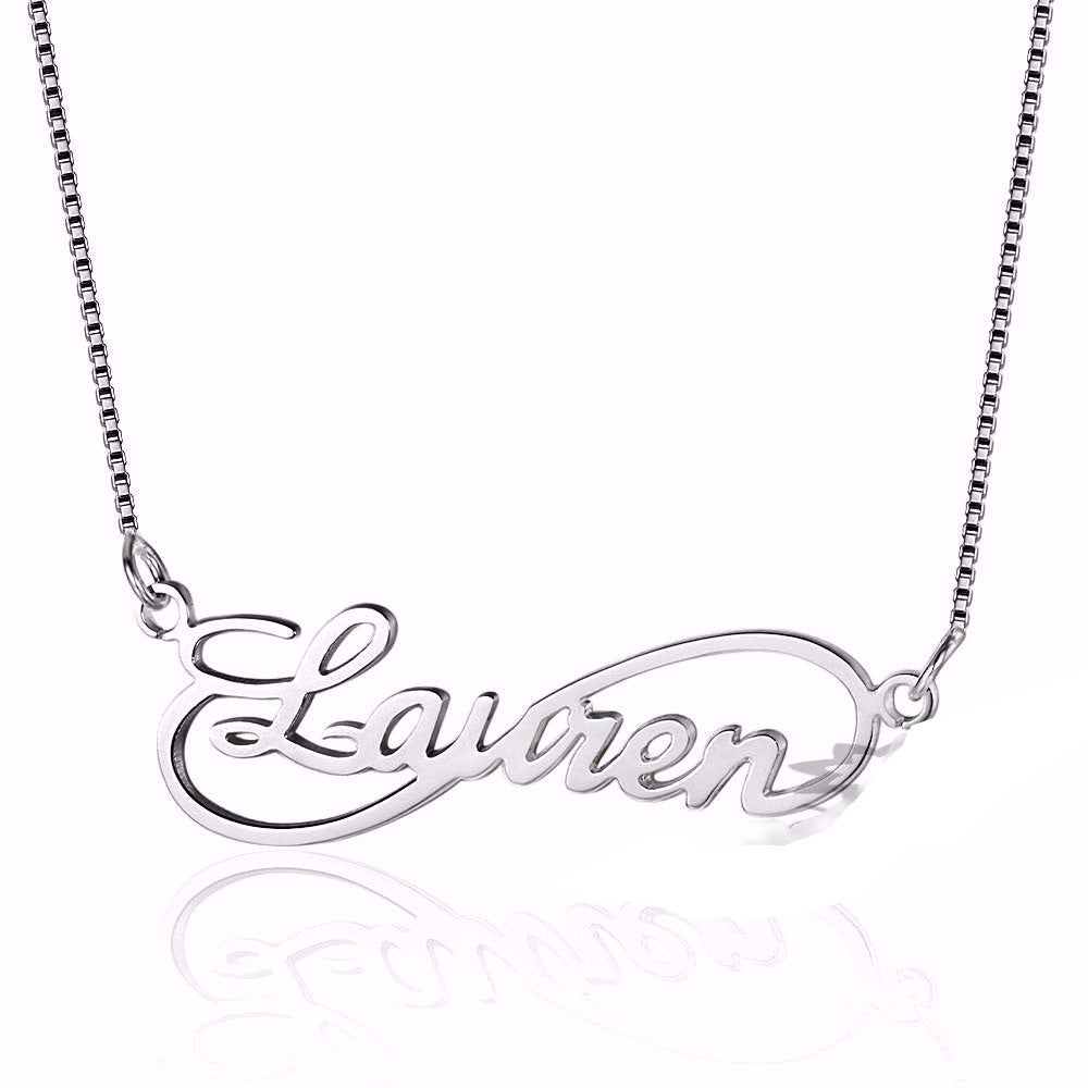 Customized Infinity Necklaces - AccessorTees