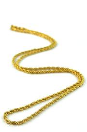 The Gold Gods Rope Gold Chain (2.5mm)