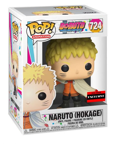 Funko Pop! Baruto: Naruto (Hokage) Pop Vinyl Figure (AAA Anime Exclusive) #724
