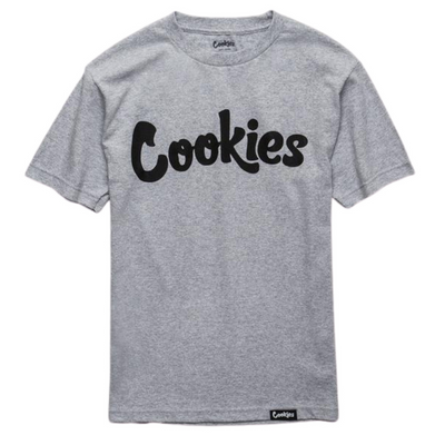 Cookies Original Logo T-shirt (Heather Grey / Black)
