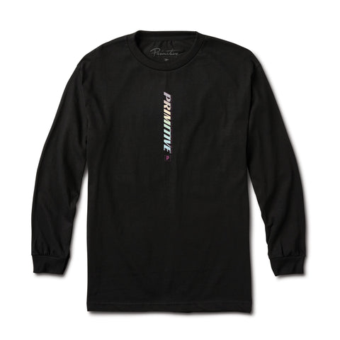 Primitive Warning Long sleeve (Black)