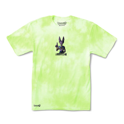 Primitive x Dragon Ball Super: Destroyer Washed II T-shirt (Lime Green)