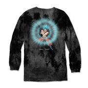 Primitive x Dragon Ball Super: Energy Washed Long sleeve T-shirt (Black)