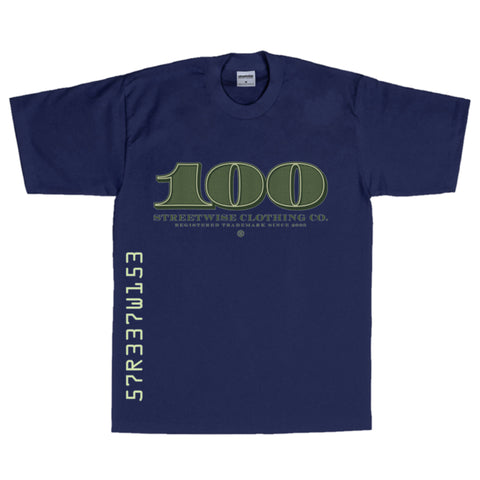Streetwise Pay Homage T-Shirt (Navy)