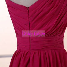 Short Bridesmaid Dresses One Shoulder Bridesmaid Dresses Hot Pink Bridesmaid Dresses 1Q1A0572