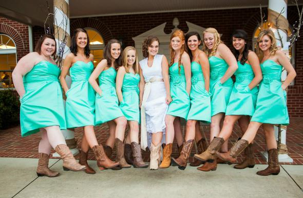 Country Style tiffany blue short bridesmaid dresses with Pockets,20081808