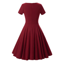 Cheap Vintage Short Burgundy Modest Bridesmaid Dresses with Short Sleeves,1539B